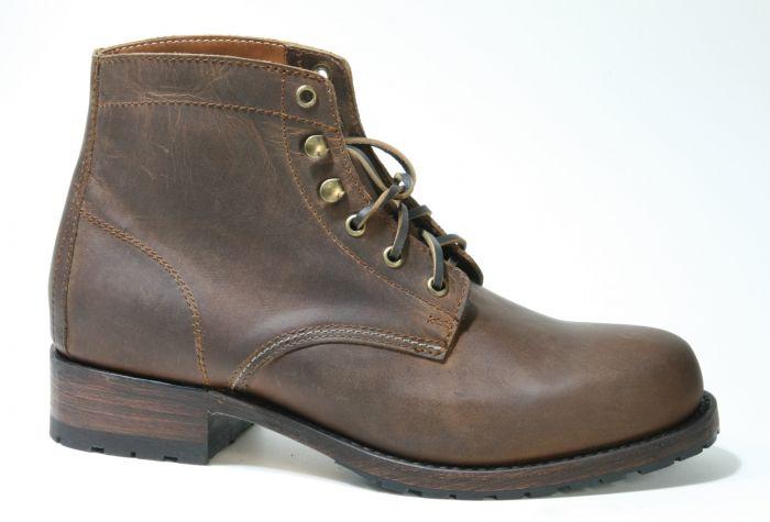 Sendra Boots Herren Schnürstiefel 10604 Lammfell Chukka