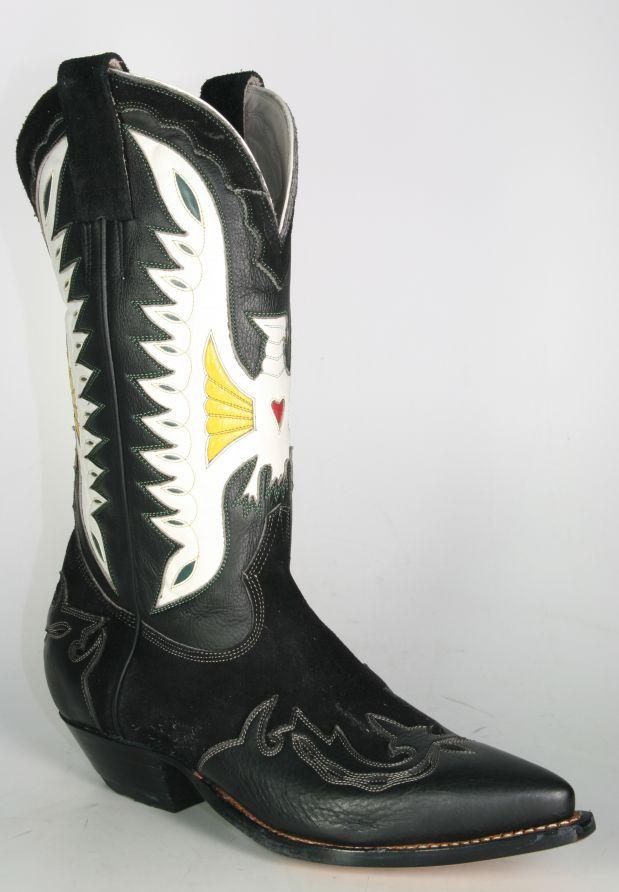 149 Quijote Don Cowboystiefel Adler Black 8vmNnw0