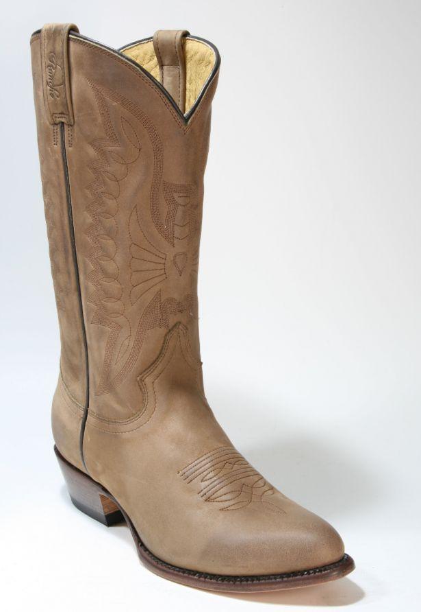 2058 Rancho Cowboystiefel Brown