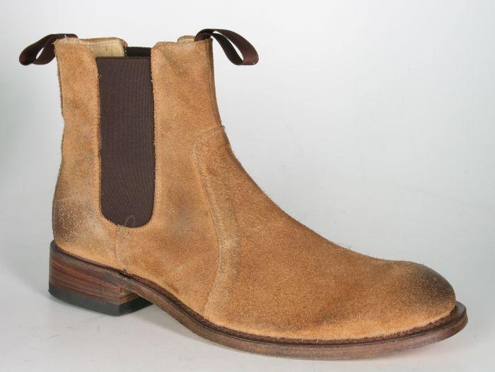 info for cbb63 27f99 7523 Sendra Chelsea boots Wildleder Brush Camello 1