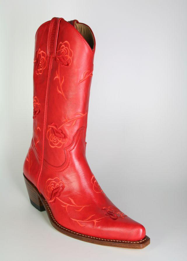 buy online 746f2 a5da8 7733 Sancho Cowboystiefel Pomodoro Rosen
