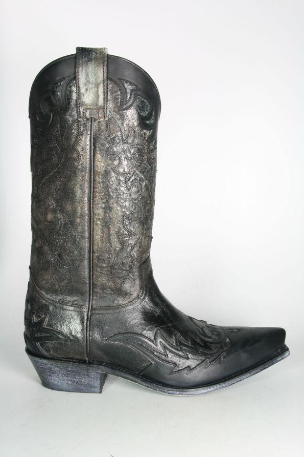 72206998a3 Boots By Boots - 9669 Sendra Cowboystiefel Floter Negro Borron - Men