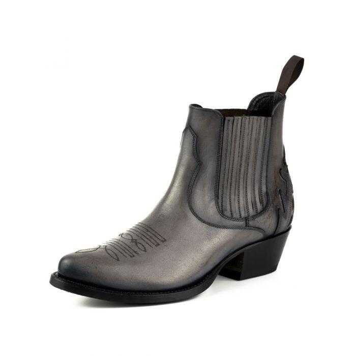 2487 Mayura Boots Cowboy Stiefeletten grau
