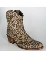 11578 Sendra Stiefelette Leopardo