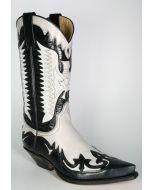 3840 Sendra Cowboystiefel Laca Negro Laca Hielo