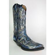 7428 Sendra Cowboystiefel Denver Azul Dirty