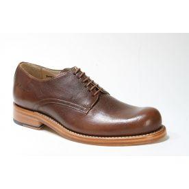 1004 Hobo Shoes Schnürschuhe GARTH Brown