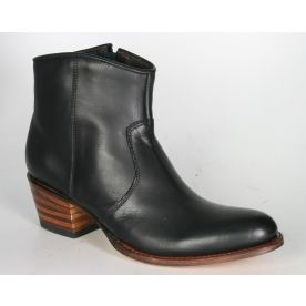 10393 Sendra Ankle boots Debora Negro