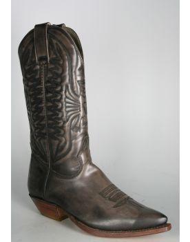 0638 Don Quijote Cowboystiefel Grey
