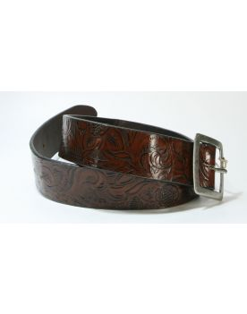 1097 Sendra Ledergürtel Blondy Marron