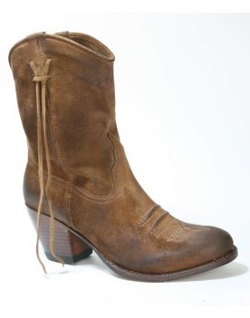12992 LALY Sendra Boho Boots Serr. Usado Marron