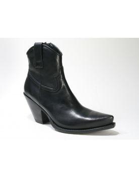 15521 Sendra Cowboy-Stiefelette Gorca Negro