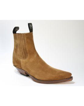 1692 Sendra Boots Stiefeletten Serr. Tabaco