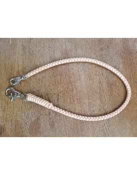2019-3 Lederkette Wallet Chain beige