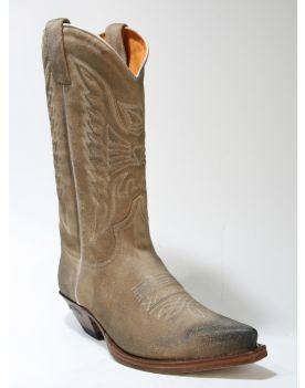 2073 Cowboystiefel Sendra Boots Serr. Natural Usado