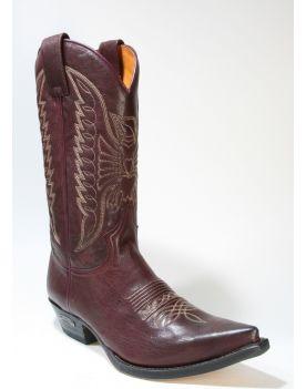 2073 Sendra Boots Cowboyboots Shetland Burdeos