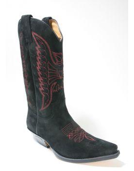 2073 Sendra Boots Cowboystiefel Serr. Negro