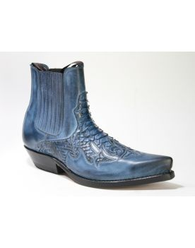 2500 Mayura Boots Stiefeletten Azul Python