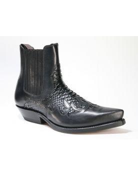 2500 Mayura Boots Stiefeletten Negro