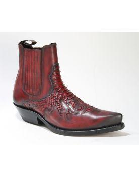 2500 Mayura Boots Stiefeletten Rojo Python