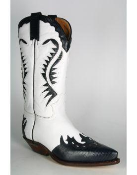 2535 Sendra Cowboystiefel Lagato Navy Blanco
