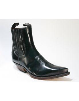 2581 Sendra Boots Stiefelette Flora Verde Botella Grün
