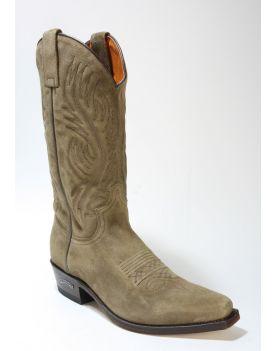 2605 Sendra Cowboystiefel Wildleder Old Martens