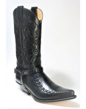 2829 Sendra Boots Cowboystiefel Ciclon Negro