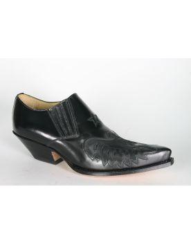 2956 Sendra Cuervo Schuhe Flor. Negro