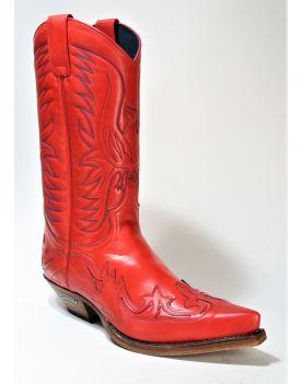 3241 Sendra Boots Cowboystiefel Salvaje Fragola