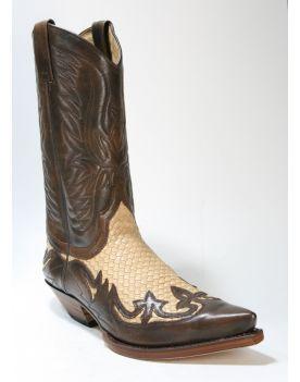 3241 Sendra Boots Cowboystiefel Jacinto Trenzado