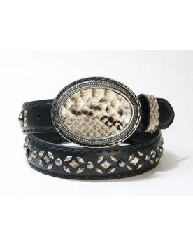 3242 Original Belts Gürtel Negro