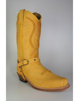 3434 Sendra Cowboystiefel Nubuk Skimo