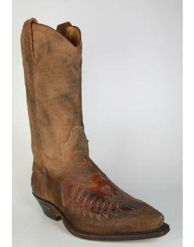 3696 Sendra Cowboystiefel Serraje Vintage Adler