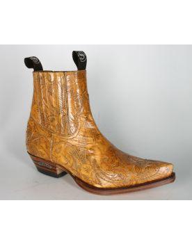 4660 Sendra Boots Stiefeletten Quesia 2419 Blondy