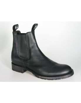 5595 Sendra Chelsea Boots Negro Gummisohle
