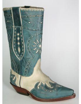 5737 Cowboystiefel Sancho blau