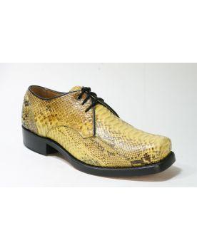 6278 Sancho Abarca Schuhe Python Amarillo