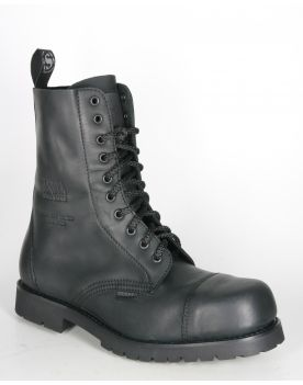 6478 Sendra Boots ACERO Sprinter Negro Schnürstiefel NEW