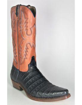 6908 Sancho Cowboystiefel Echtes Krokoleder