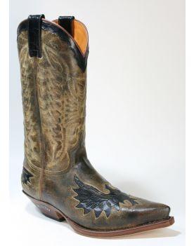 7106 Sendra Cowboystiefel Barbados Camello 2