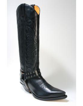 7167 Sendra Cowboystiefel Hochschaft Ciclon Negro
