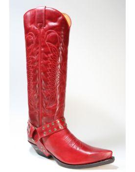 7167 Sendra Cowboystiefel Hochschaft Ciclon Rojo