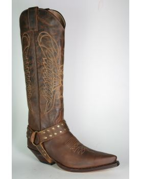 7167 Sendra Cowboystiefel Hochschaft Mad Dog Tang