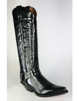 7167 Sendra Cowboystiefel Hochschaft Florentic Negro