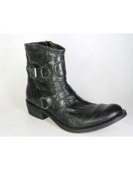 7567 Sendra Stiefel Barbados Negro