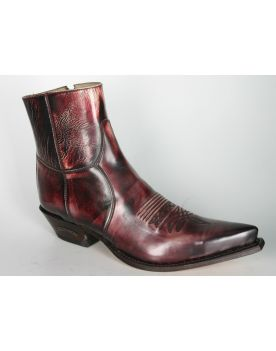 7826 Sendra Stiefelette Denver Rojo Dirty