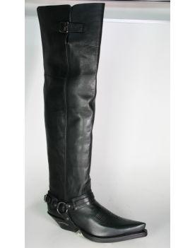 7977 Sendra Boots Overknees Negro