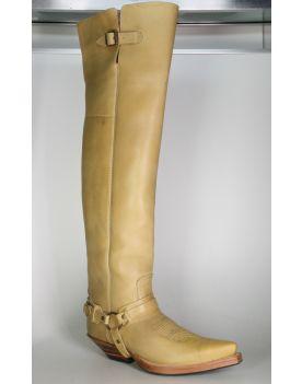 7977 Sendra Boots Overknees Box Brash Crepe