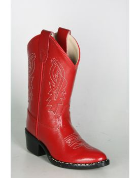 8116 Old West Kids Cowboystiefel RED